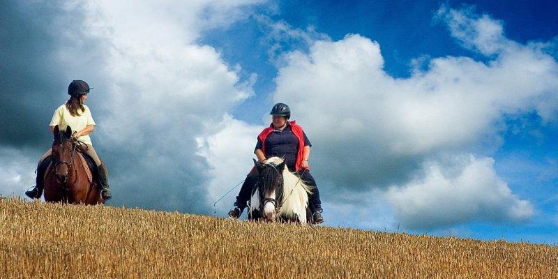 Riders near Long Sutton