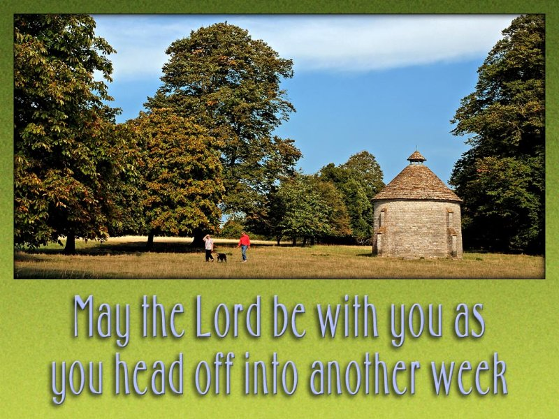 The Lord be with you slide from the Lytes Cary series