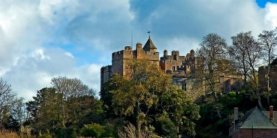 Dunster Castle ~ from a distance