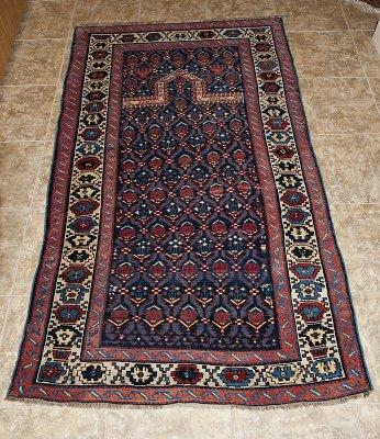 Caucasian prayer carpet (Akstafa), with hand motif
