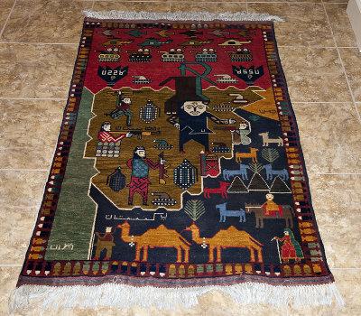Afghan war carpet