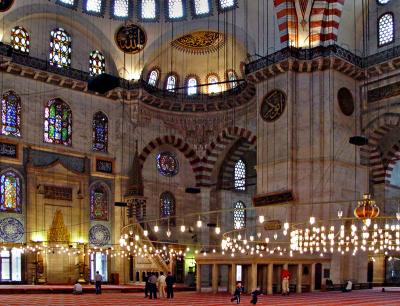 Süleymaniye interior