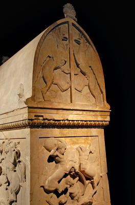 Archeology Museum sarcophagus