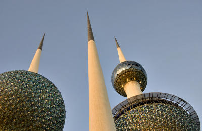 Stopover in Kuwait: Kuwait Towers