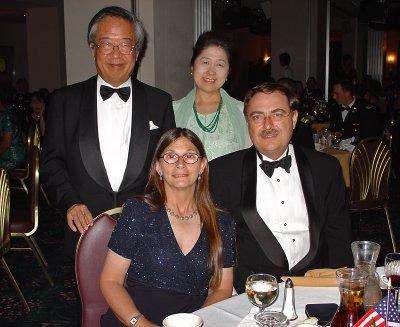 Army Ball, ambassador and wife