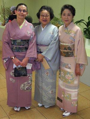Threesome, Ikebana show