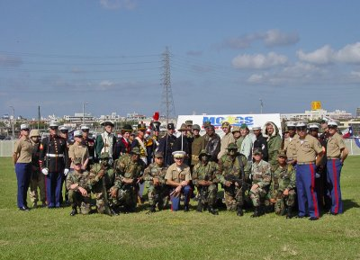 USMC birthday group
