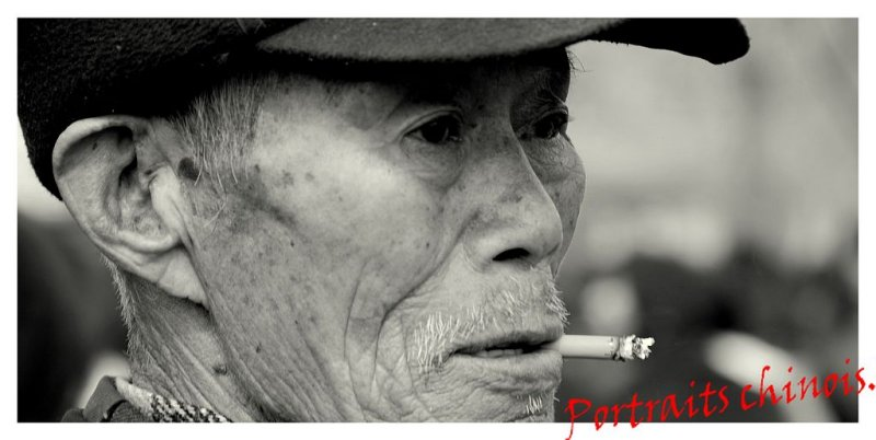 Portraits Chinois - Banner -