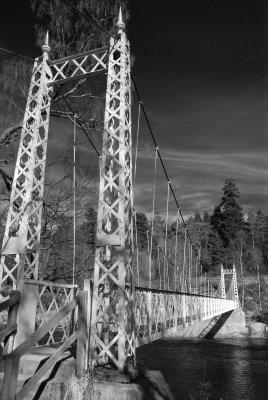 Cambus o May Suspension Bridge...