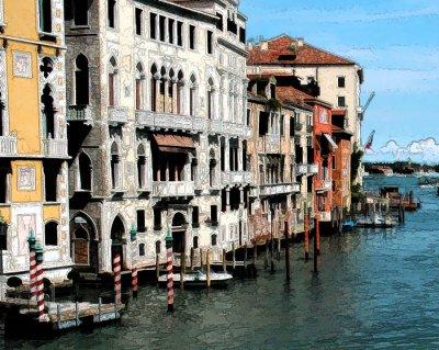 Facades of Venice