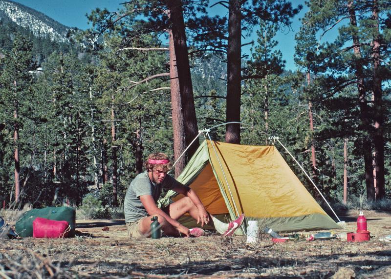 Montes Camp near Big Bear, PCT 1977