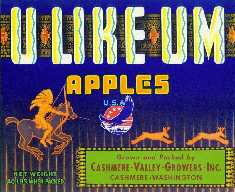 U-Like-Um Apples ( Cashmere)