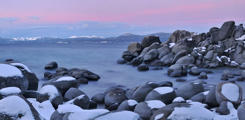 NV - Lake Tahoe - Sand Harbor Sunrise
