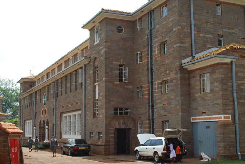 One of the dorms at Kenya High School (Sarahs school)