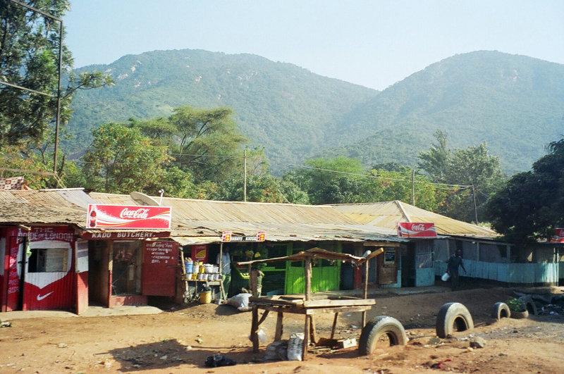 Namanga street scenes