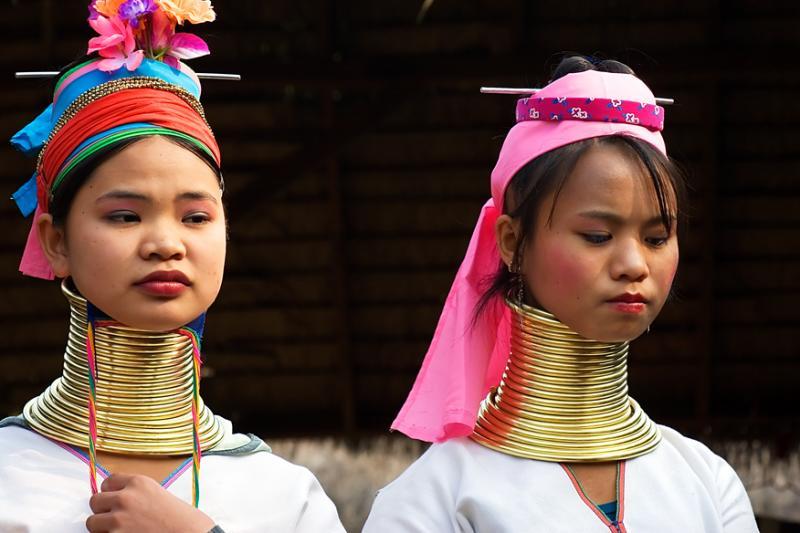 thailand, Long-neck village