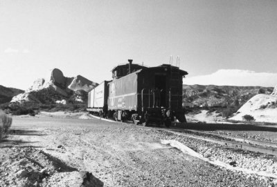 Before the fred there was a caboose!