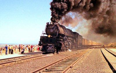 UP #3985 Steam Show 1982 Salt Lake to Provo RT