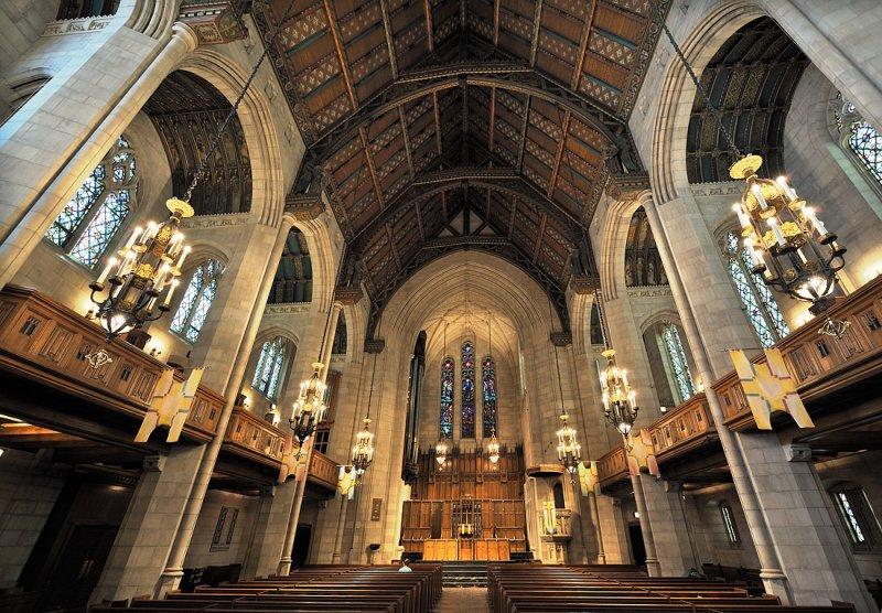 Fourth  Presbyterian Church, Interior