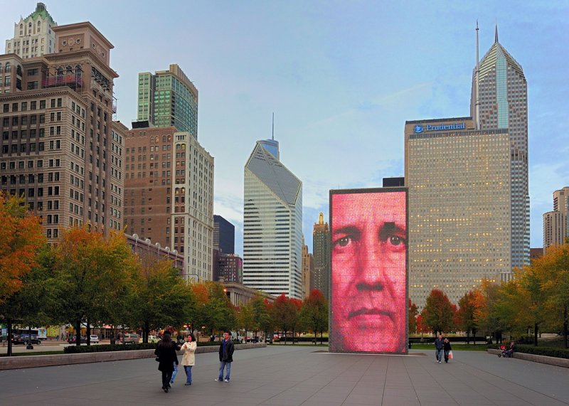 Dry Crown Fountain