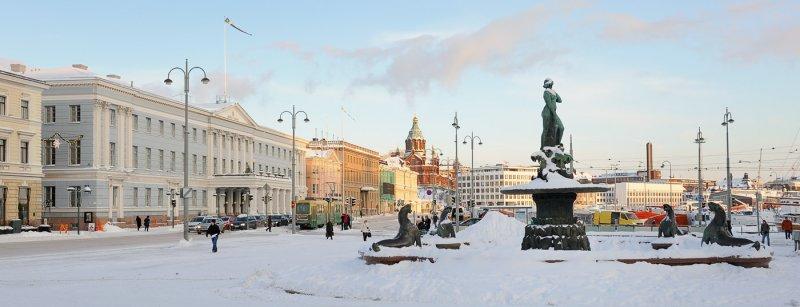 Wintry Helsinki