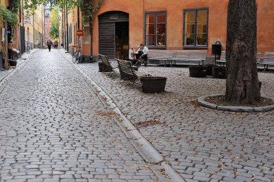 Brända Tomten and Kindstugatan