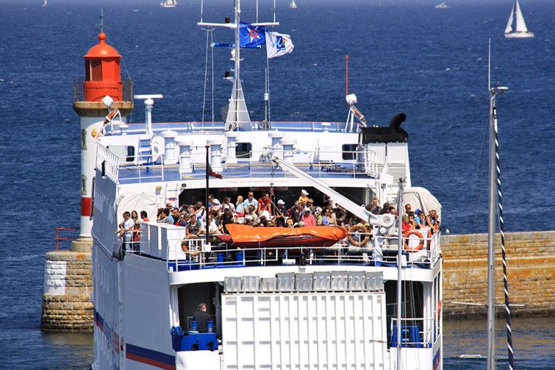 Port Tudy departure