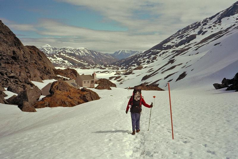 Chilkoot summit