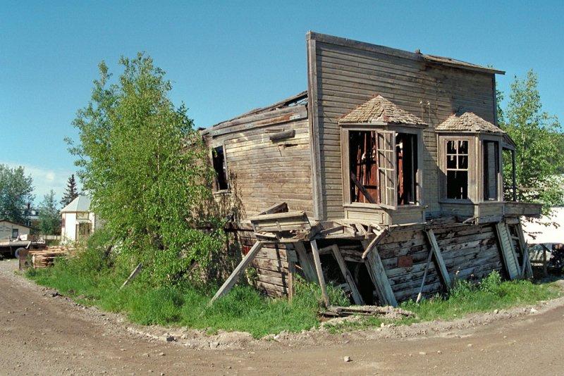 Permafrost damage