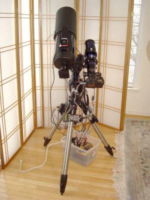 Celestron C6S-GT Imaging Setup