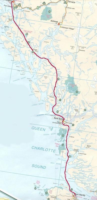 Complete Northern Ferry Route