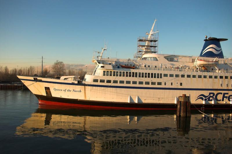 Queen of the North at Deas Dock