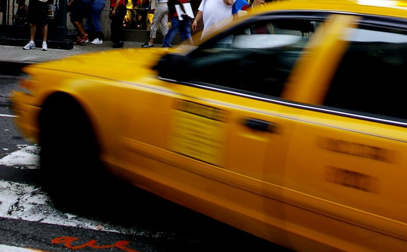 Yellow Cab, NYC