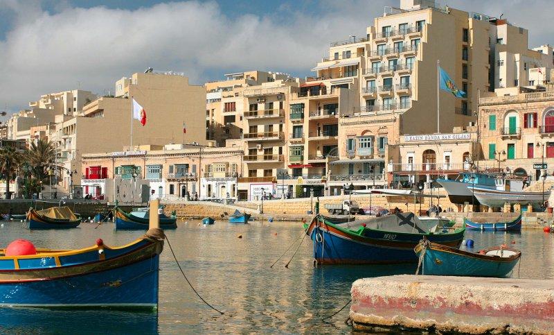 Around the Island of Malta