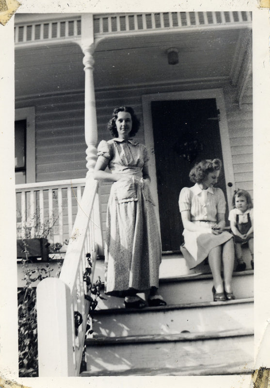Evie as a Young Woman