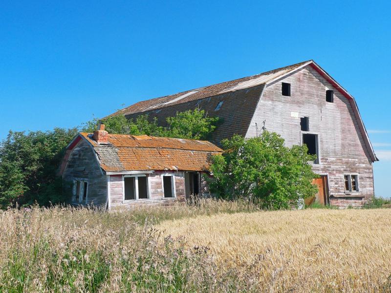 Barn, near Fort Saskatchewan, Alberta