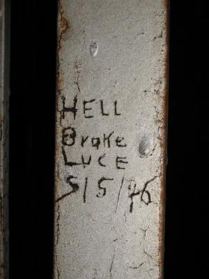 A Block, Cell 23 -- Hell Broke Luce 5/5/46