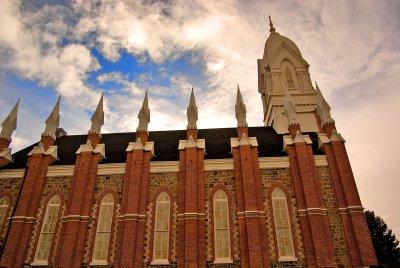 Box Elder Tabernacle - Daylight