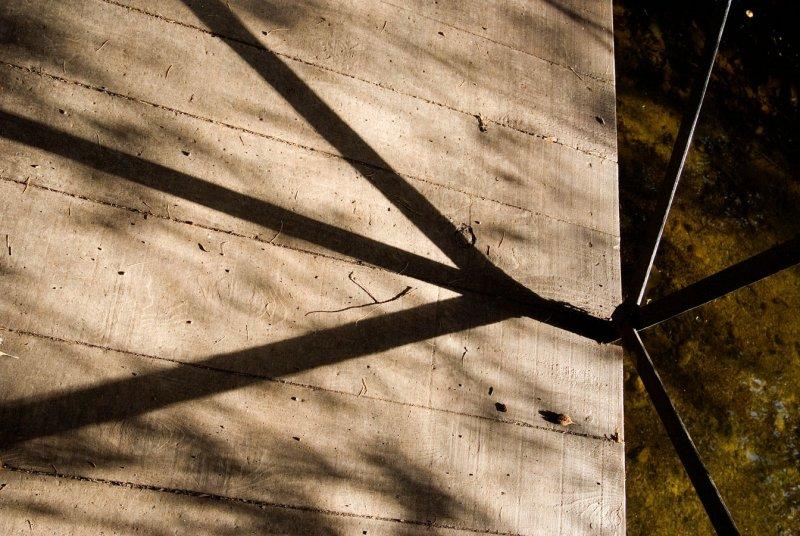 Shadows on Bridge