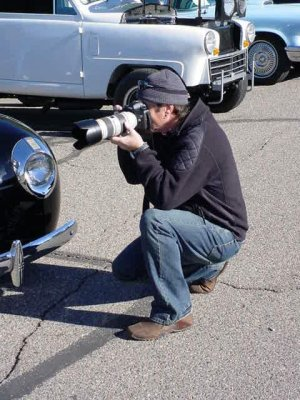 40 Ford photo taker