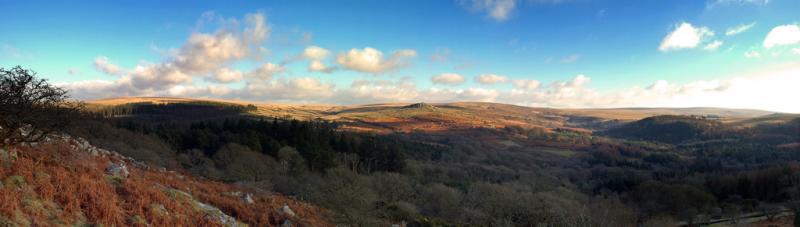 Burrator, Devon, Panoramic