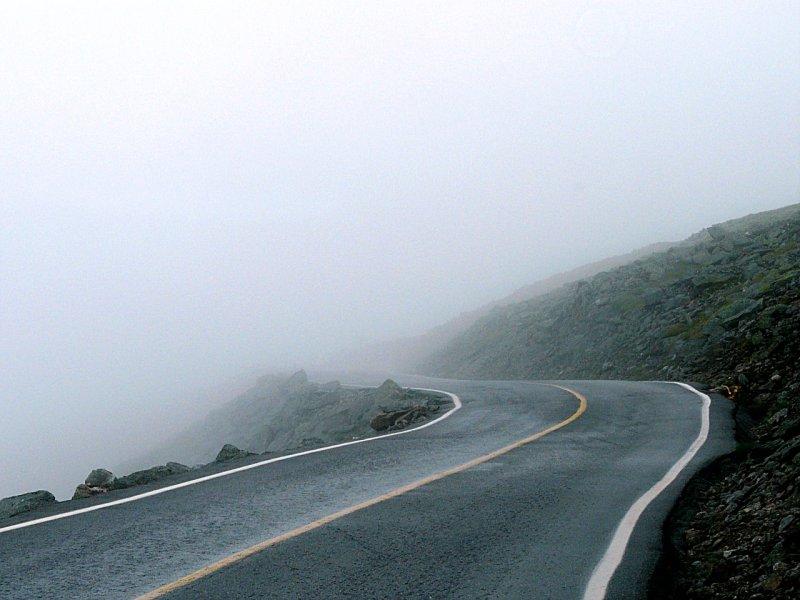 Foggy Mountain Road ~ August 17th