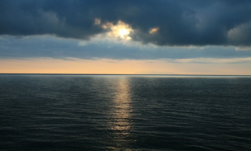 corsica sunrise.