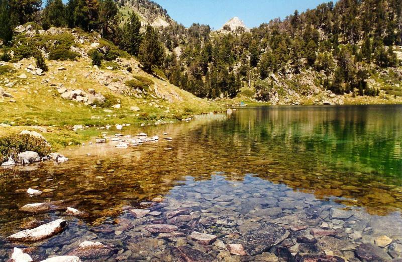 pyrénées lac.