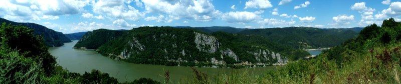 Iron Gates Gorge - panorama / Djerdapska klisura