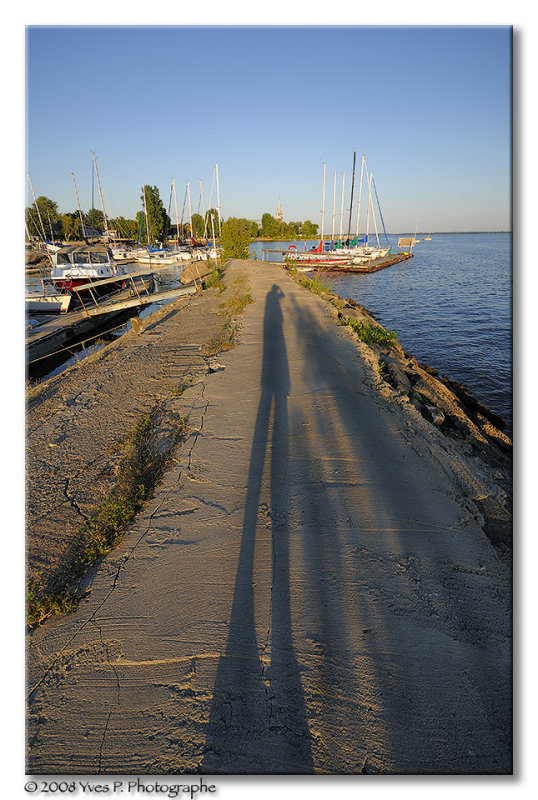 Long shadows ...