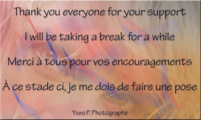 Break ...