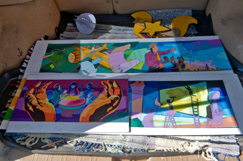 Color Study panels