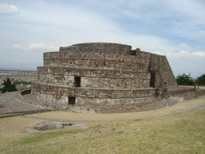 Templo de Ehécatl-Quetzalcóatl