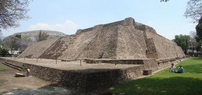 PIRAMIDE DE TENAYUCA (PANORAMICA)